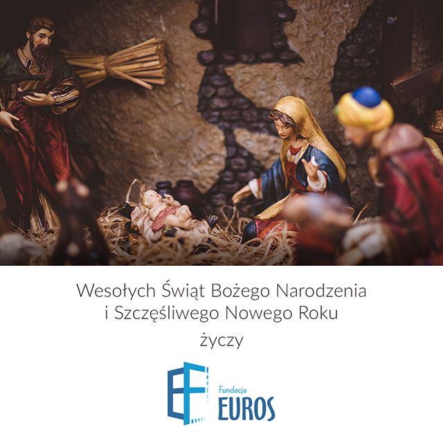 Fundacja Euros życzy Spokojnych Świąt Bożego Narodzenia iSzczęśliwego Nowego Roku