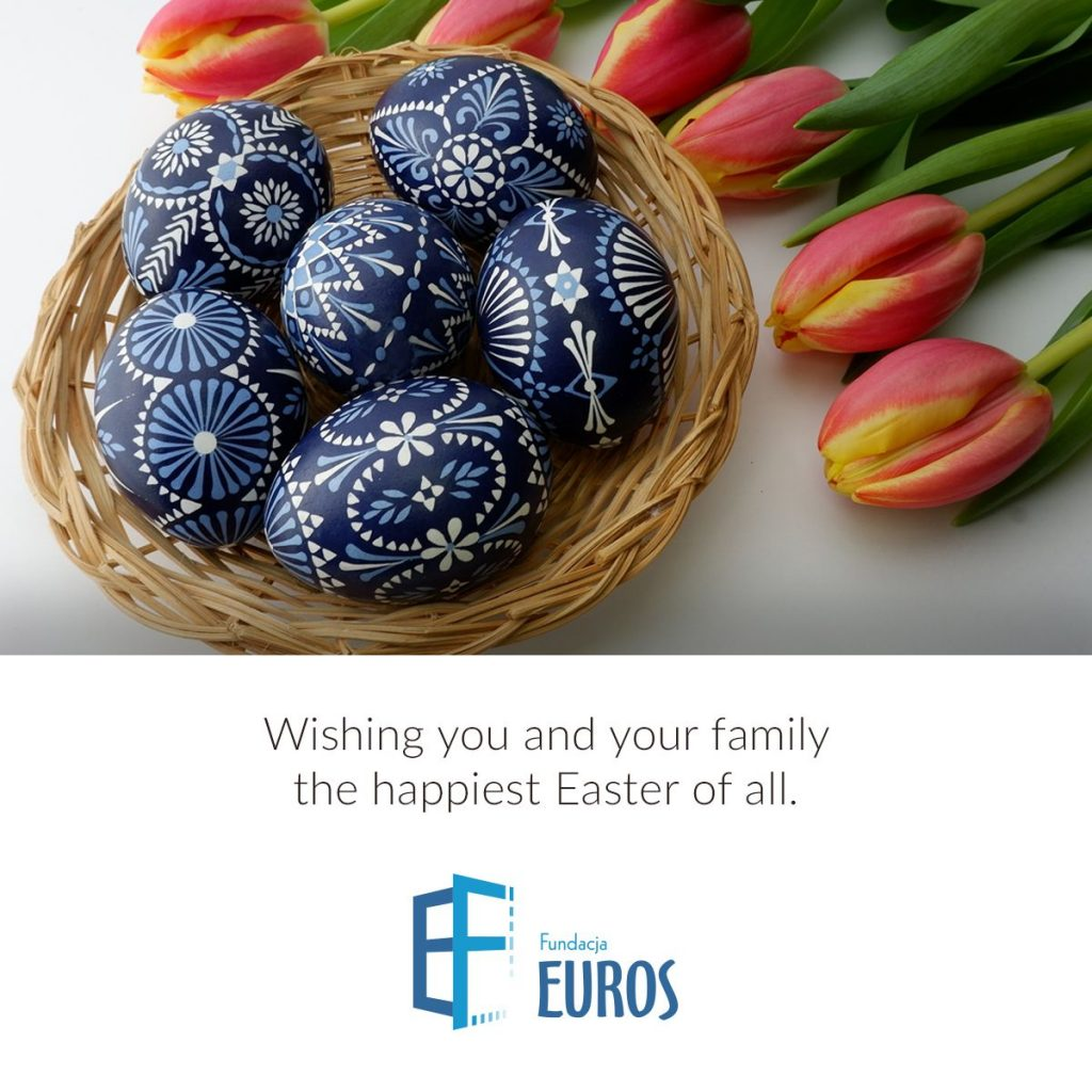 Wishing you and your family the happiest Easter of all - Foundation Euros